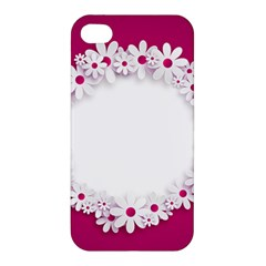 Photo Frame Transparent Background Apple iPhone 4/4S Hardshell Case