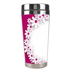 Photo Frame Transparent Background Stainless Steel Travel Tumblers