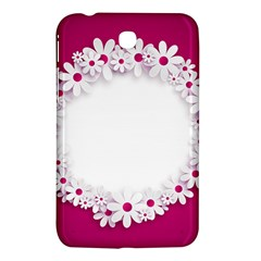 Photo Frame Transparent Background Samsung Galaxy Tab 3 (7 ) P3200 Hardshell Case