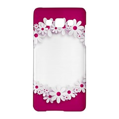 Photo Frame Transparent Background Samsung Galaxy A5 Hardshell Case