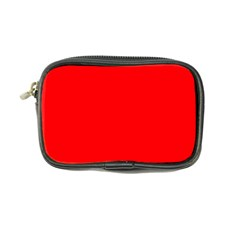 Solid Christmas Red Velvet Coin Purse