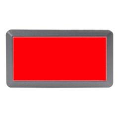 Solid Christmas Red Velvet Memory Card Reader (Mini)