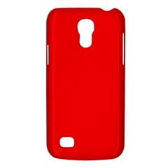 Solid Christmas Red Velvet Galaxy S4 Mini
