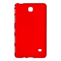 Solid Christmas Red Velvet Samsung Galaxy Tab 4 (8 ) Hardshell Case