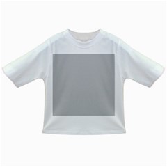 Solid Christmas Silver Infant/Toddler T-Shirts