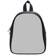 Solid Christmas Silver School Bags (Small)