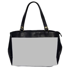 Solid Christmas Silver Office Handbags (2 Sides)
