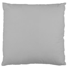 Solid Christmas Silver Standard Flano Cushion Case (One Side)