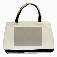 Solid Christmas Silver Basic Tote Bag (Two Sides)
