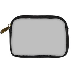Solid Christmas Silver Digital Camera Cases