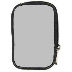 Solid Christmas Silver Compact Camera Cases