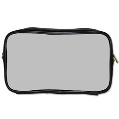 Solid Christmas Silver Toiletries Bags