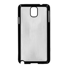 Solid Christmas Silver Samsung Galaxy Note 3 Neo Hardshell Case (Black)