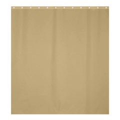Solid Christmas Gold Shower Curtain 66  x 72  (Large)