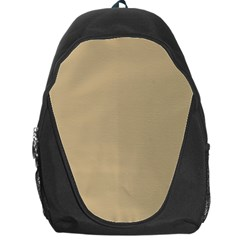 Solid Christmas Gold Backpack Bag
