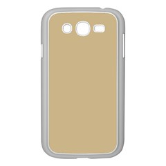 Solid Christmas Gold Samsung Galaxy Grand DUOS I9082 Case (White)