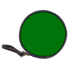 Solid Christmas Green Velvet Classic Colors Classic 20-CD Wallets