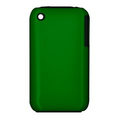 Solid Christmas Green Velvet Classic Colors iPhone 3S/3GS