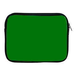 Solid Christmas Green Velvet Classic Colors Apple iPad 2/3/4 Zipper Cases