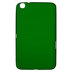 Solid Christmas Green Velvet Classic Colors Samsung Galaxy Tab 3 (8 ) T3100 Hardshell Case