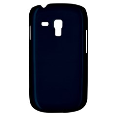 Solid Christmas Silent night Blue Galaxy S3 Mini