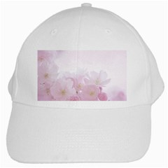 Pink Blossom Bloom Spring Romantic White Cap