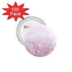 Pink Blossom Bloom Spring Romantic 1 75  Buttons (100 Pack)