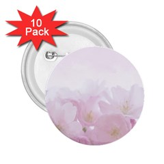 Pink Blossom Bloom Spring Romantic 2.25  Buttons (10 pack)