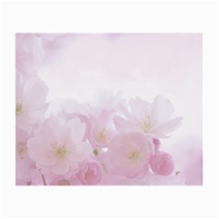 Pink Blossom Bloom Spring Romantic Small Glasses Cloth (2-Side)