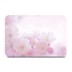 Pink Blossom Bloom Spring Romantic Plate Mats