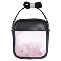 Pink Blossom Bloom Spring Romantic Girls Sling Bags