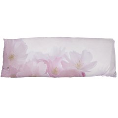 Pink Blossom Bloom Spring Romantic Body Pillow Case Dakimakura (two Sides)
