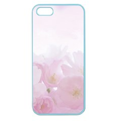 Pink Blossom Bloom Spring Romantic Apple Seamless Iphone 5 Case (color)