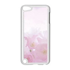 Pink Blossom Bloom Spring Romantic Apple Ipod Touch 5 Case (white)