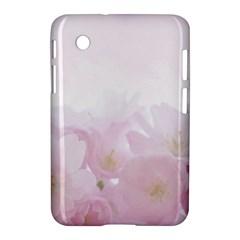 Pink Blossom Bloom Spring Romantic Samsung Galaxy Tab 2 (7 ) P3100 Hardshell Case
