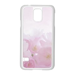Pink Blossom Bloom Spring Romantic Samsung Galaxy S5 Case (white)
