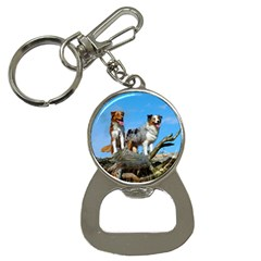 mini Australian Shepherd group Button Necklaces
