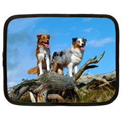 mini Australian Shepherd group Netbook Case (Large)