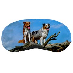 mini Australian Shepherd group Sleeping Masks
