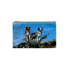 mini Australian Shepherd group Cosmetic Bag (Small)