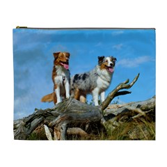 mini Australian Shepherd group Cosmetic Bag (XL)