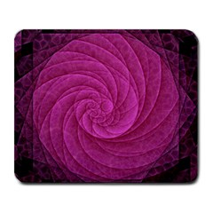 Purple Background Scrapbooking Abstract Large Mousepads