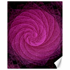 Purple Background Scrapbooking Abstract Canvas 16  x 20