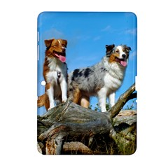 mini Australian Shepherd group Samsung Galaxy Tab 2 (10.1 ) P5100 Hardshell Case