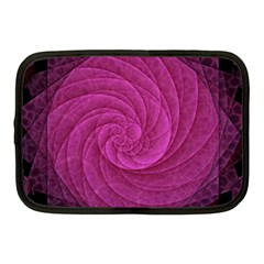 Purple Background Scrapbooking Abstract Netbook Case (medium)