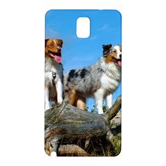 mini Australian Shepherd group Samsung Galaxy Note 3 N9005 Hardshell Back Case