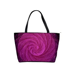 Purple Background Scrapbooking Abstract Shoulder Handbags