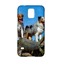mini Australian Shepherd group Samsung Galaxy S5 Hardshell Case