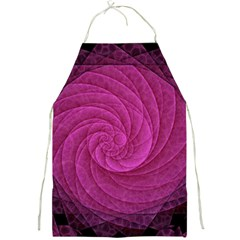 Purple Background Scrapbooking Abstract Full Print Aprons