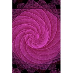 Purple Background Scrapbooking Abstract 5.5  x 8.5  Notebooks